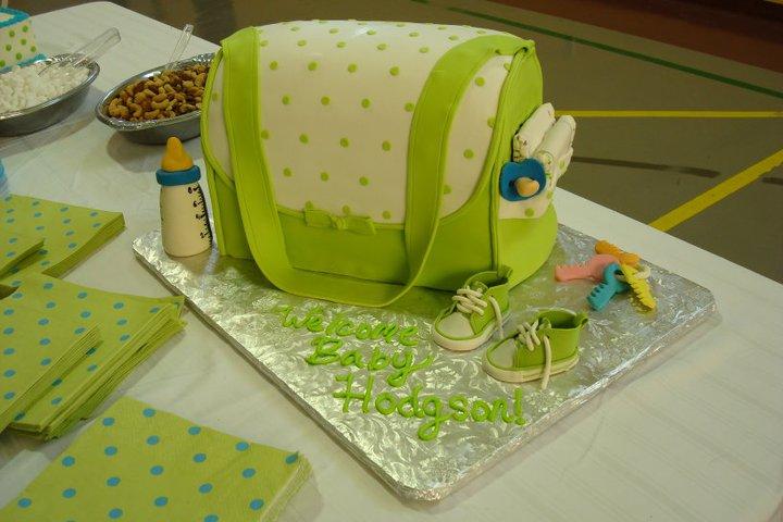 Pistachio Green Diaper Bag